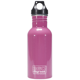 360° degrees Stainless Bottle 550ml pink